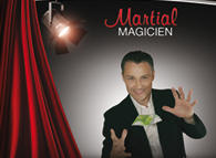 MARTIAL Professionnal magician in Paris from 1987
