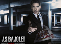Jean Sébastien BAJOLET close up magician